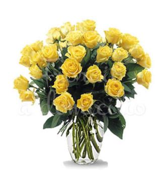 buoquet-di-36-rose-gialle