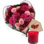 cuore-di-rose-fucsia-con-candela-e-bigliettino