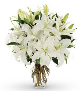 bouquet-di-gigli-bianchi