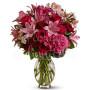 buoquet-di-rose-rosse-gigli-rosa-e-fiorellini-rosa