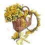 cesto-di-mimose-con-coroncina-e-mazzettino